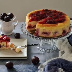 Cheesecake sa šljivama