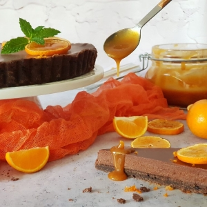 Tart od čokolade i klementina