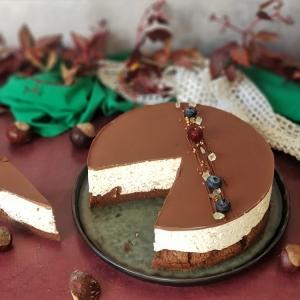 Kesten mousse torta