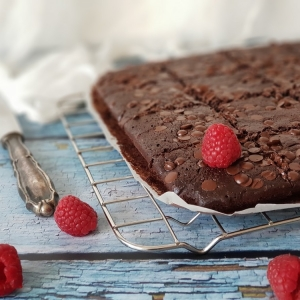 Malina brownies