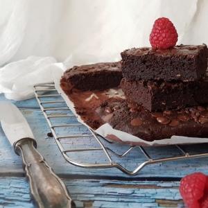 Malina brownies